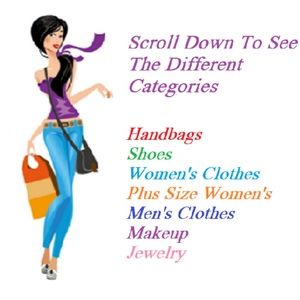 Scroll Down To See The Different Categories